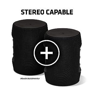 stereo capable speaker surround sound 360 degree sound