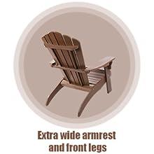 extra wide armrest