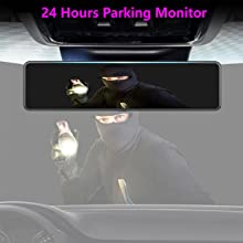 24 hours parking monitor