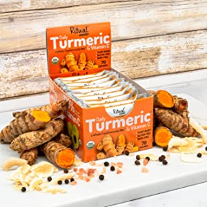 Ritual Energy - Turmeric Daily Immunity Bites