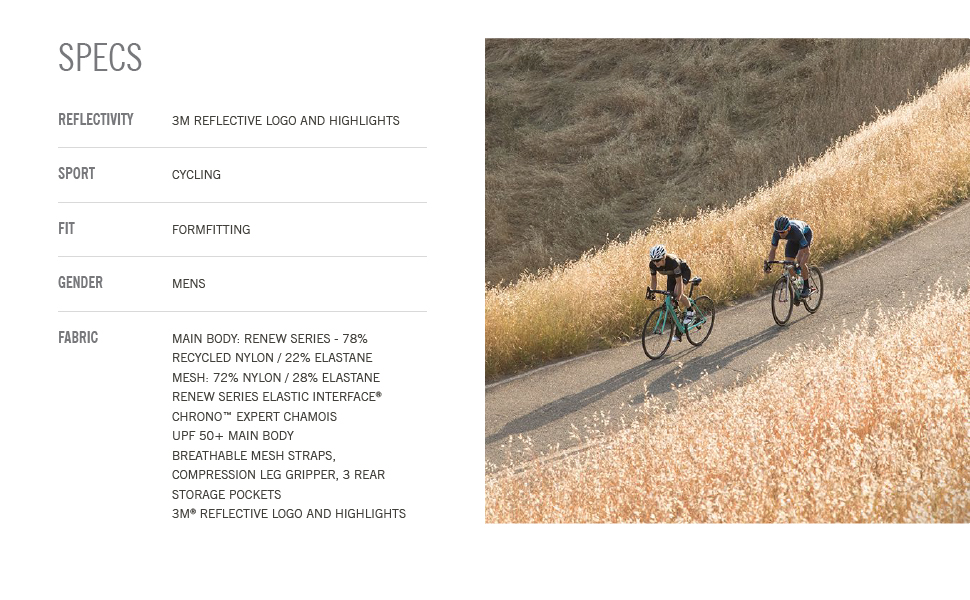 giro apparel Chrono Expert Bib Short men bike specs