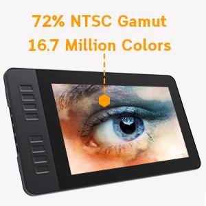 GAOMON PD1161 Tablette Graphique avec Ecran HD 11,6 Pouces Moniteur de Dessin