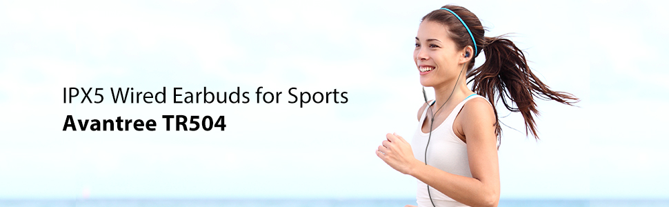 wired earbuds for sports