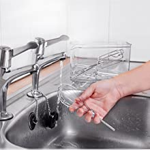 clean, cleaning, washing, dishwasher, hand, handwash, stainless-steel, stainless, steel, whisk, sink