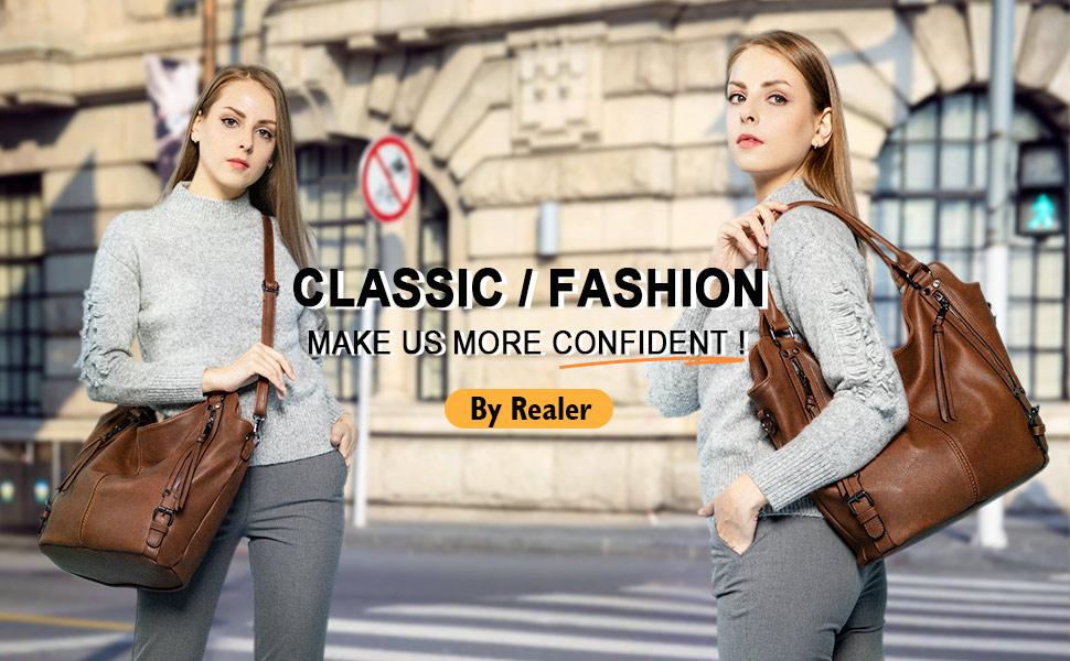 Hobo bag large purse concealed carry bag