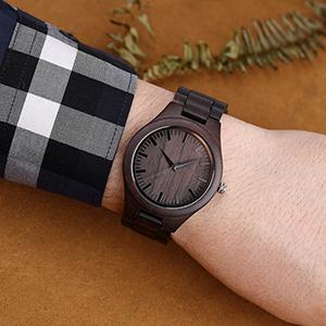 men's wood watches