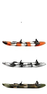 Elkton Fishing Rotomolded Kayak