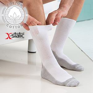 gambaletti, calze, soletta massaggiante, diabete, piedi sensibili, con argento