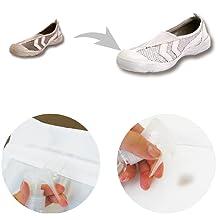襟袖靴汚れ