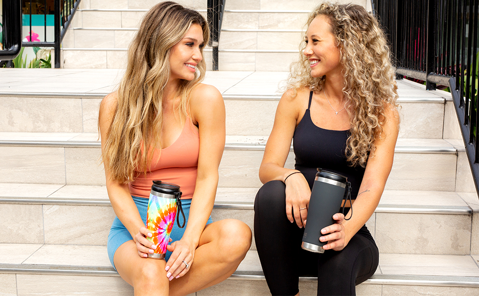 tumbler straw tumblr oz ounce reusable thermo hydroflask portable coffe stainless steel cups