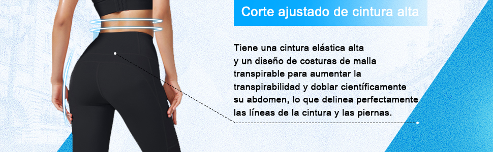 Corte ajustado de cintura alta