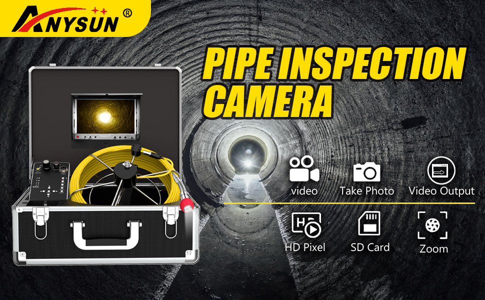 pipe inspection camera