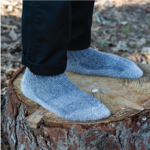 meriwool merino wool hiking socks provides a perfect amount of compression for your feet