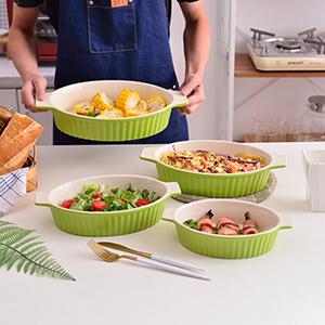 bakeware set ceramic baking dishes oven safe lasagna pans for cooking casserole dish baking pans
