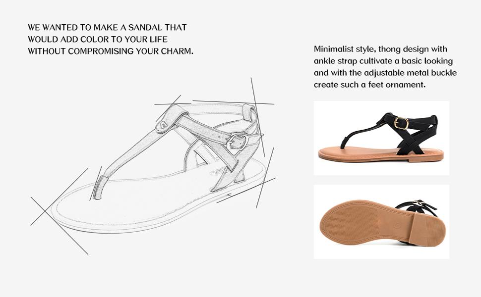 women strappy sandals