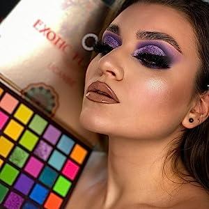 Metallic Makeup Looks