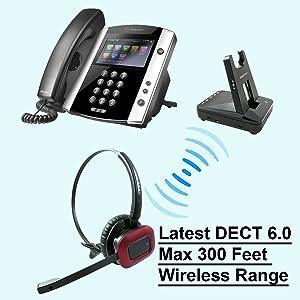 Polycom Wireless Headset