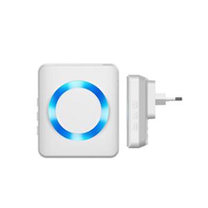 Empfänger Steckdose Reichweite LED-Ring