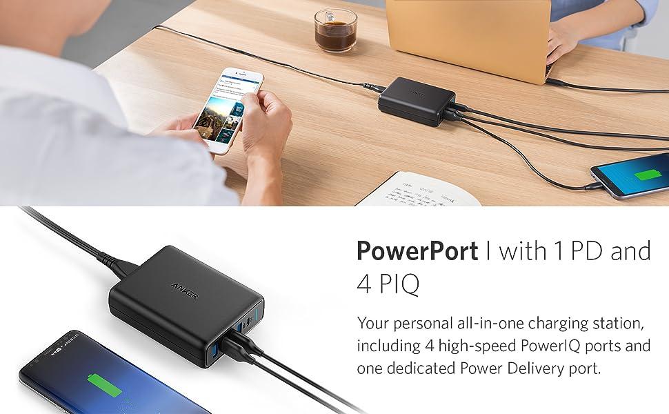 Anker desktop charger