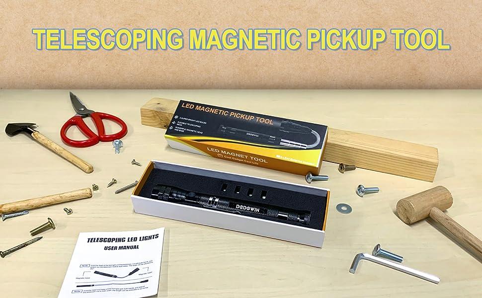 Megnetic pickup tool