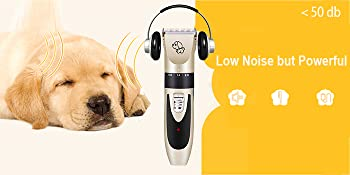 low noise dog clippers