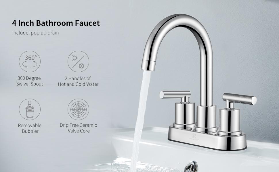 Bathroom Faucet Chrome