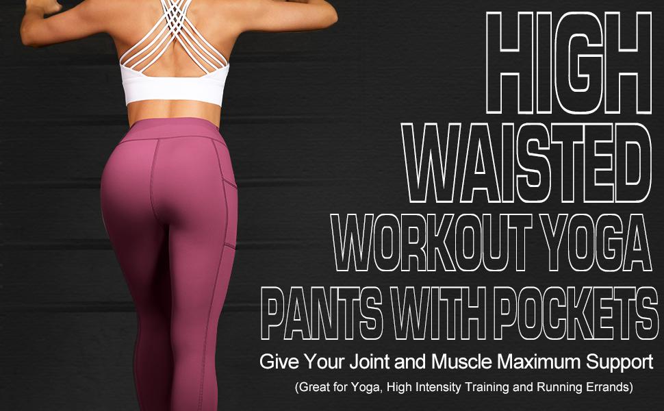 high rise leggings for women running yoga pants anti cellulite exercise yoga pants lift butt workout