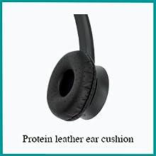 leather ear cushion