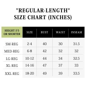 jijamas size chart