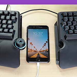 wired ergonomic keyboard