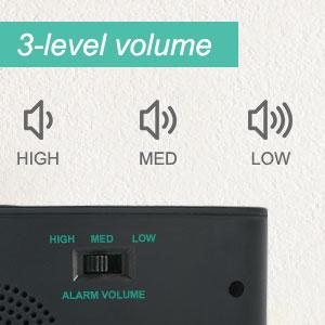 112db loud alarm