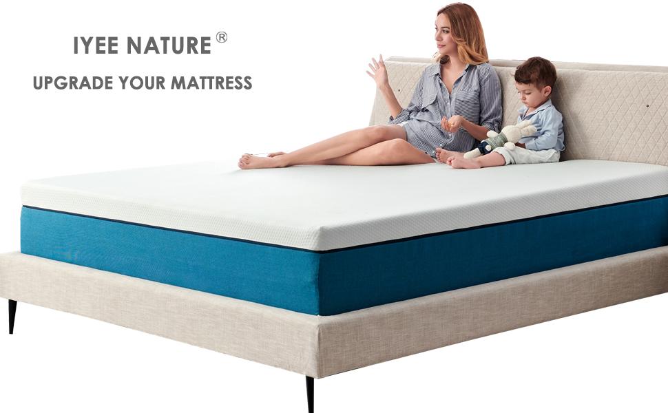 Queen Mattress Memory Foam Mattress in a Box, Foam Bed Mattress Medium Firm Foam Mattress
