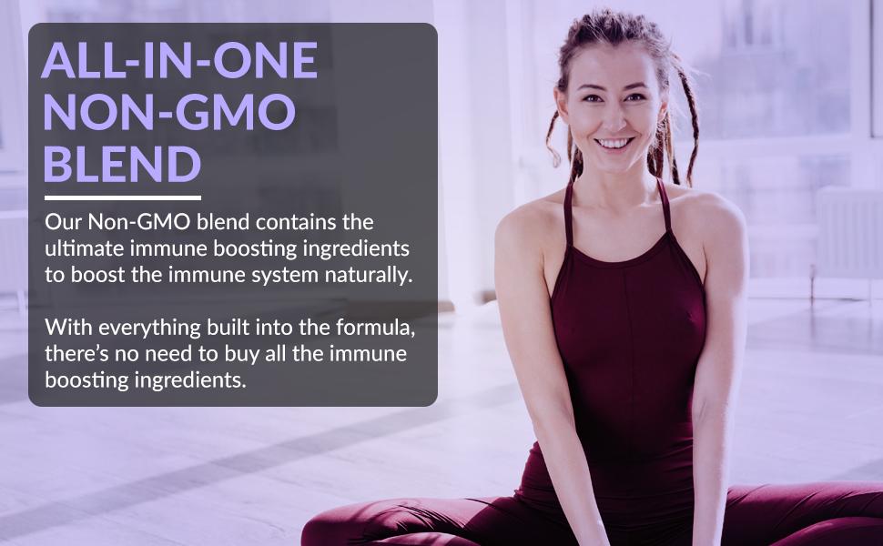 all in one non-GMO immune system formula