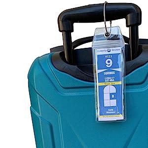 Celebrity Cruise Tag Holders Luggage