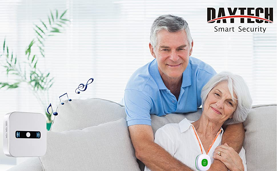 caregiver pager life alert system home alert for elderly long range in home pager call button