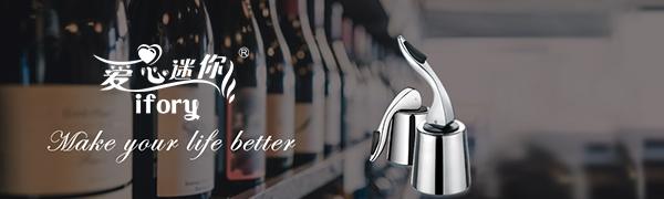 ifory Wine Bottle Stopper make your life better