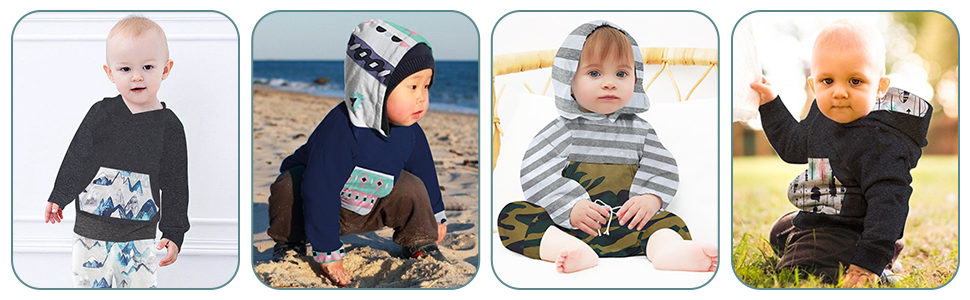 cute baby boy outfit set