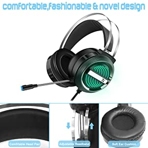 computer pc xbox 360 gaming headset