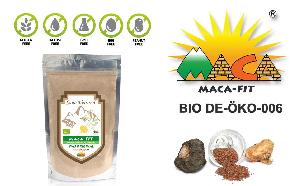 Maca fit 500g puro de la raíz de maca organica: Amazon.es: Salud y ...