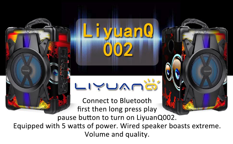 Portable Bluetooth PA