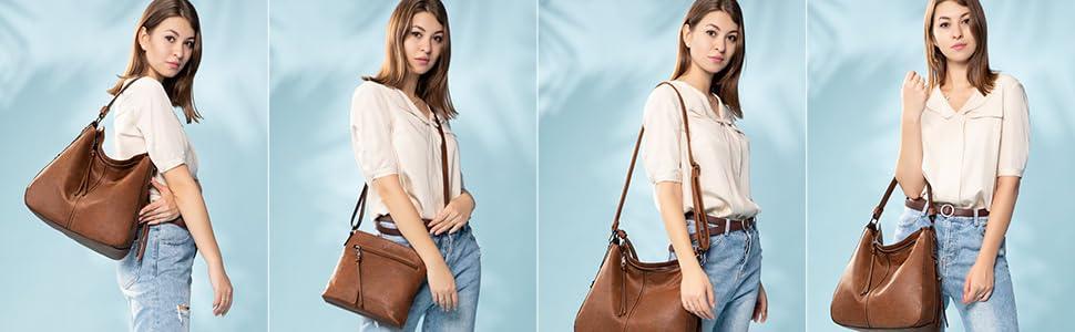 Hobo crossbody bags for women