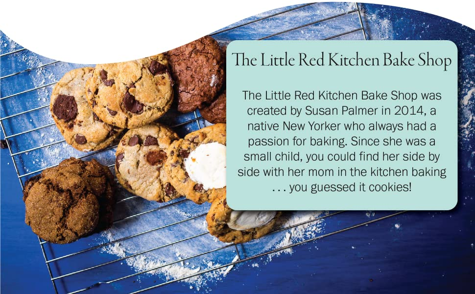 fresh baked cookies, chocolate chip, peanut butter, smores, triple chocolate, lemon, gift set