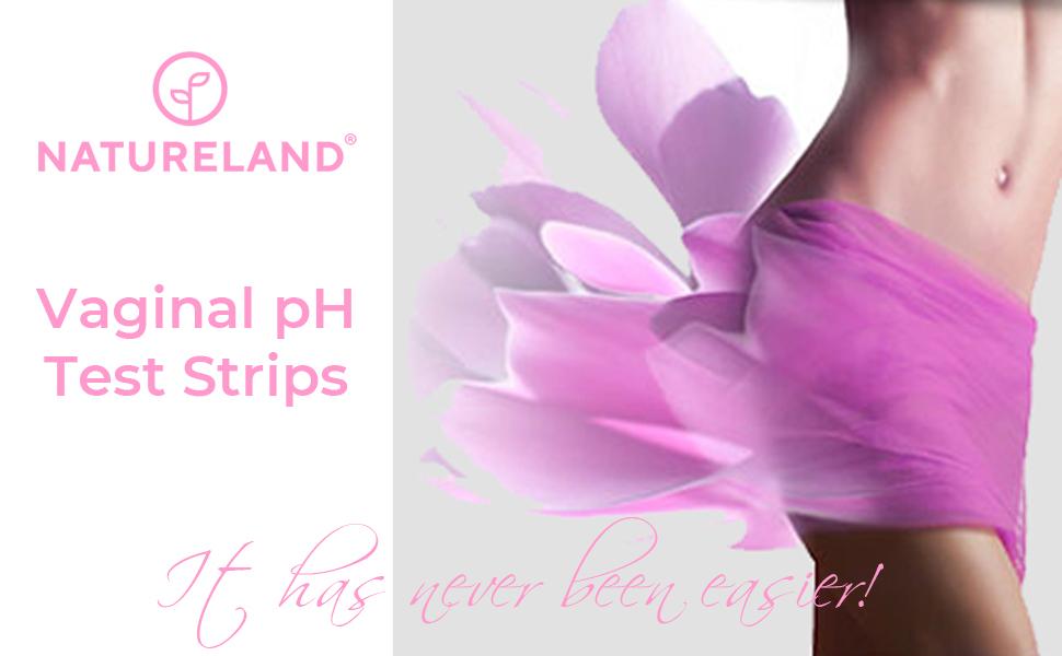 Natureland Vaginal pH Test Strips
