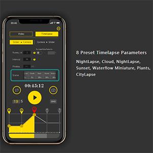 Preset Parameters for Easy Timelapse