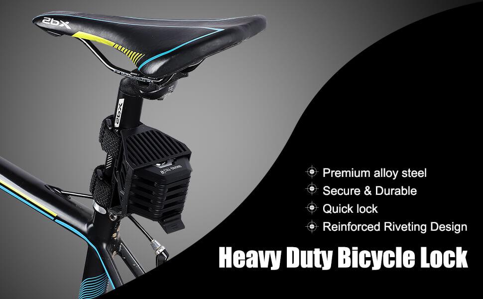heavy duty bicycle lock