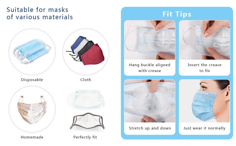 3D Mask Bracket Internal Support Frame