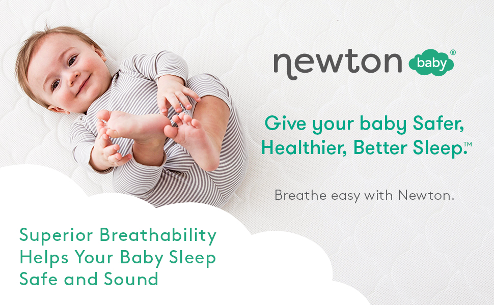 Newton Baby Crib Mattress - Grey