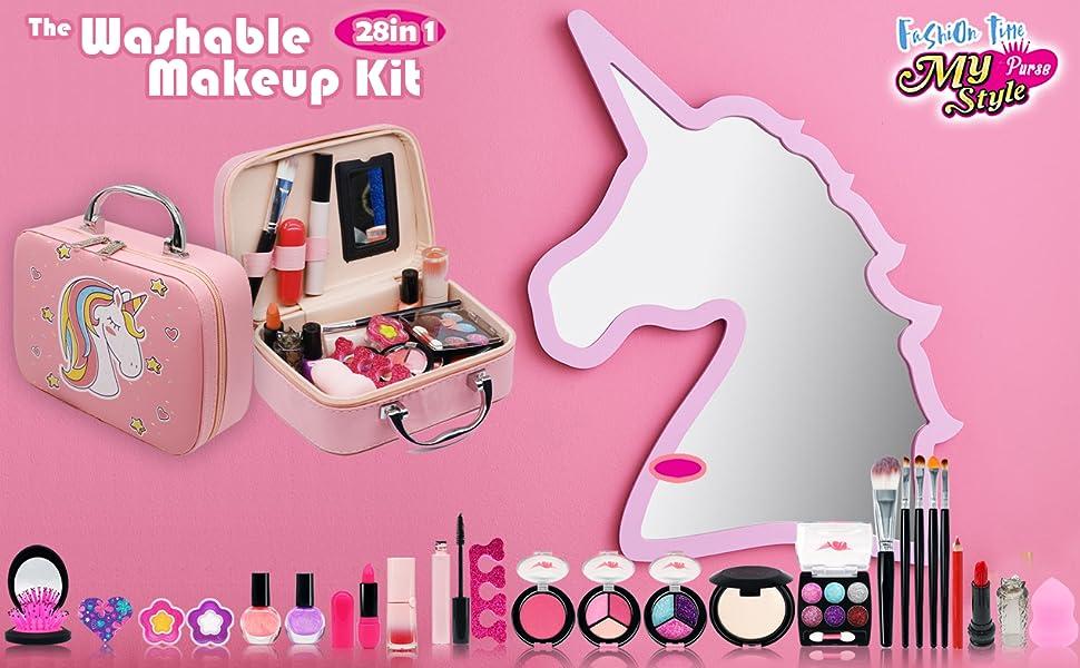 Kids Makeup Kit for Girl - Play Makeup Set for Toddlers