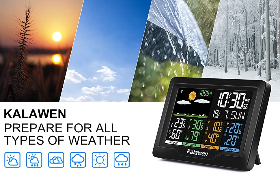 weather station with 3