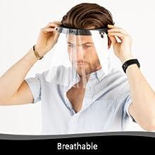glasses wearers hat youth goggle saliva